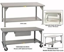 ALL-WELDED EXTRA HEAVY DUTY WORKBENCHES